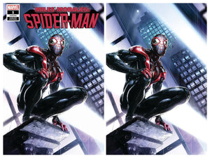 MILES MORALES: Spider-Man #1 Crain SET (Trade + Virgin)