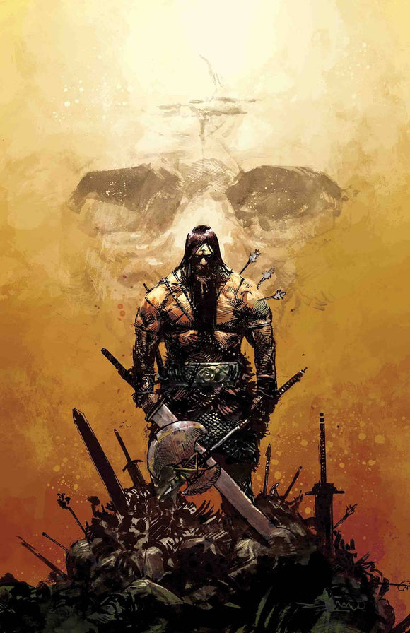 Pre-Order: CONAN THE BARBARIAN #1 GERARDO ZAFFINO Color Virgin! ***Only 1000 Copies!***