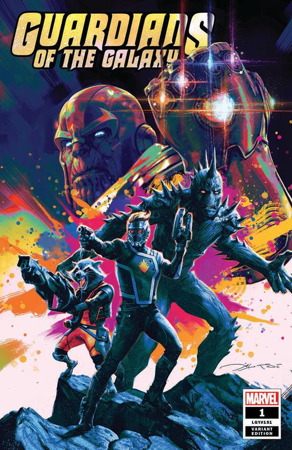 Pre-Order: GUARDIANS OF THE GALAXY #1 Alexi Briclot EXCLUSIVE Trade Dress!