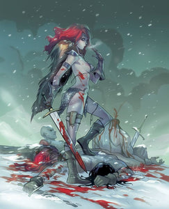 RED SONJA #1 Mirka Andolfo VIRGIN Exclusive! ***Limited to ONLY 500 Worldwide!*** - Mutant Beaver Comics