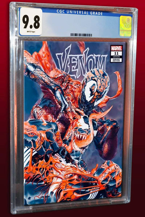 Pre-Order: VENOM #11 Mike Mayhew EXCLUSIVE Trade Dress CGC 9.8! ***Please Allow 4-6 Weeks After Release for CGC Processing***