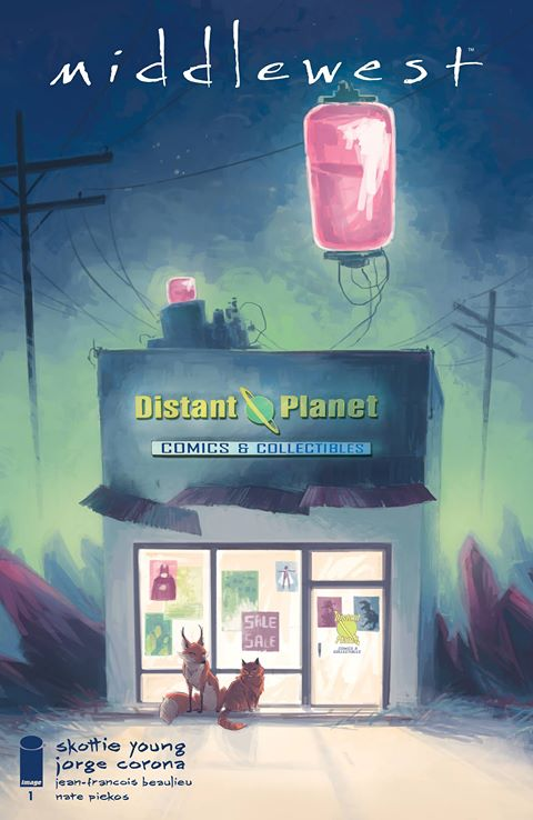 MIDDLEWEST #1 Distant Planet Trade Dress EXCLUSIVE!! ***ONLY 500 Copies Made!!*** - Mutant Beaver Comics