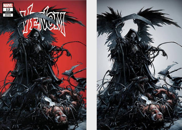 Pre-Order: VENOM #12 Clayton Crain EXCLUSIVE SET (Trade + Virgin) ***Only 1000 Sets Available Worldwide***