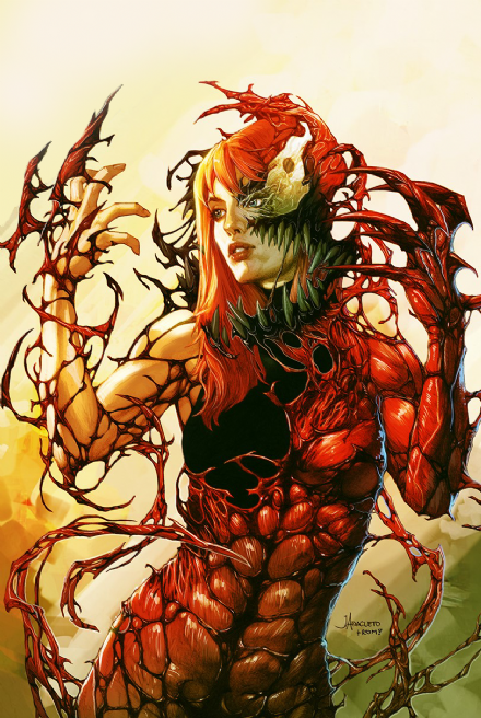Pre-Order: SYMBIOTE SPIDER MAN #1 Jay Anacleto CARNAGE QUEEN Exclusive VIRGIN! ***Ltd to Only 1000***