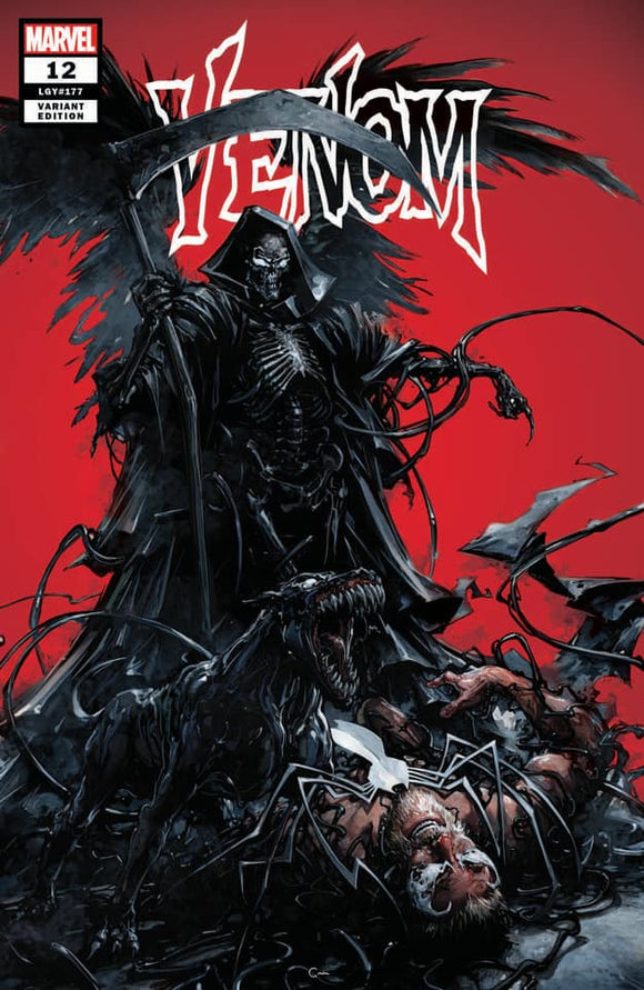 VENOM #12 Clayton Crain EXCLUSIVE! ***Available as TRADE DRESS / VIRGIN SET!*** - Mutant Beaver Comics