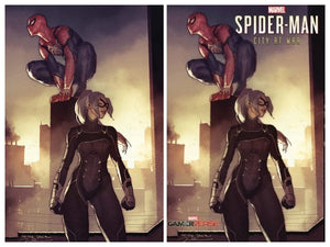 Pre-Order: SPIDER-MAN: CITY AT WAR #1 Gerald Parel SET (Trade Dress + C2E2 Virgin) - Mutant Beaver Comics
