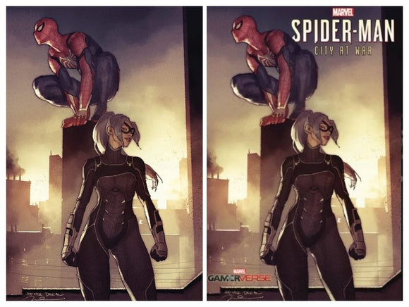 Pre-Order: SPIDER-MAN: CITY AT WAR #1 Gerald Parel SET (Trade Dress + C2E2 Virgin)