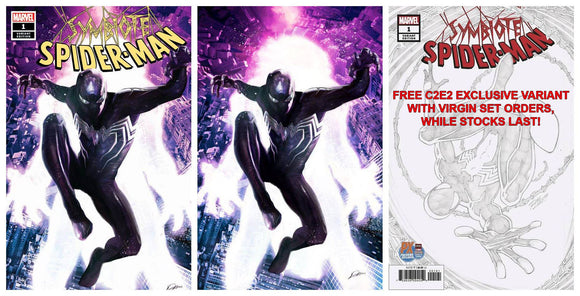 Pre-Order: SYMBIOTE SPIDER-MAN #1 Alexander Lozano Exclusive SET featuring Black Suit Spidey & Mysterio!