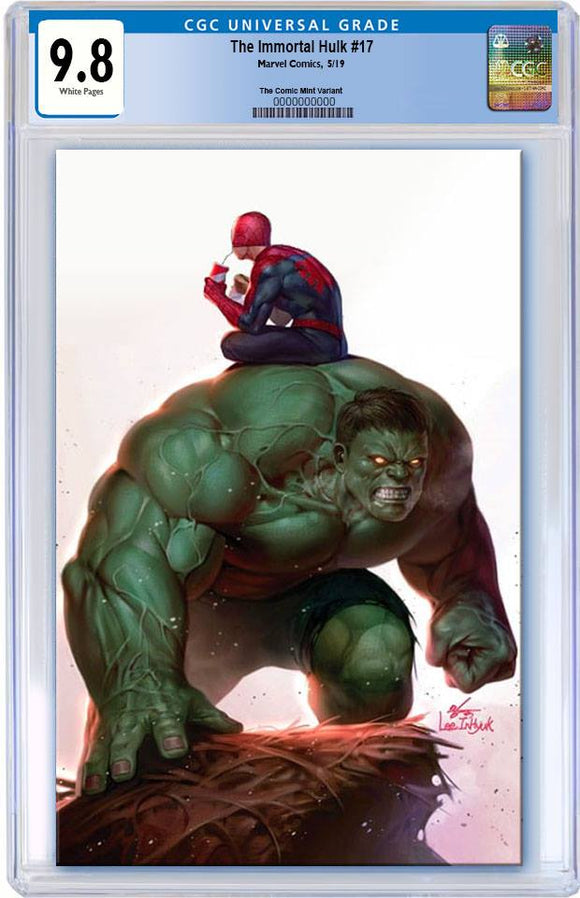 Pre-Order: THE IMMORTAL HULK #17 Inhyuk Lee Exclusive CGC 9.8 Virgin ***Please Allow 6-8 Weeks After Release for CGC Processing***