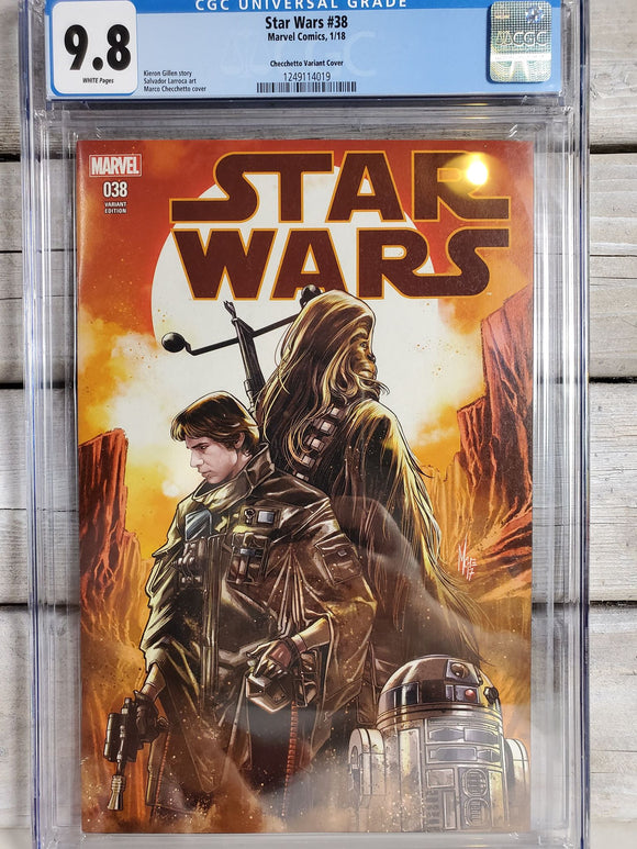STAR WARS #38 Exclusive Variant CGC 9.8 - Mutant Beaver Comics
