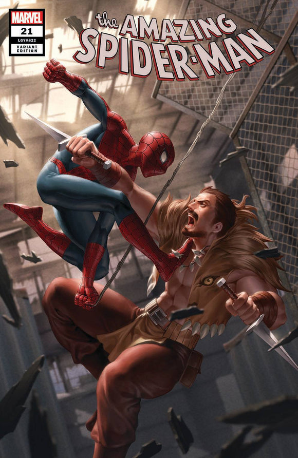 AMAZING SPIDER-MAN #21 Junggeun Yoon EXCLUSIVE! - Mutant Beaver Comics