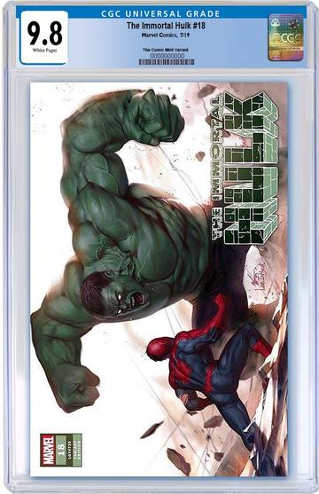 CGC 9.8 THE IMMORTAL HULK #18 Inhyuk Lee TRADE DRESS Exclusive! - Mutant Beaver Comics