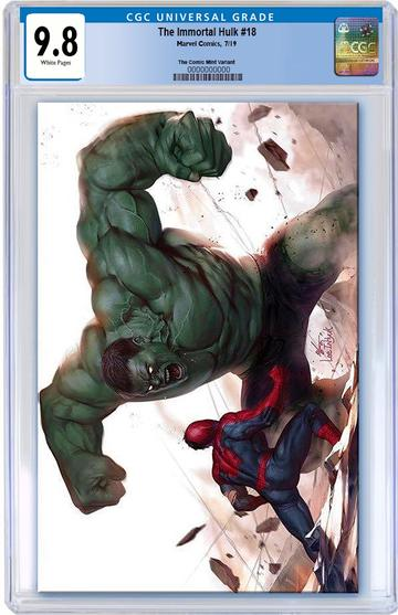 CGC 9.8 THE IMMORTAL HULK #18 Inhyuk Lee VIRGIN Exclusive! - Mutant Beaver Comics