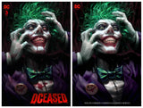 Pre-Order: DCeased #3 Derrick Chew JOKER Exclusive! ***Available in Trade Dress, Sets, CGC 9.8, & CGC SS/Remarks***
