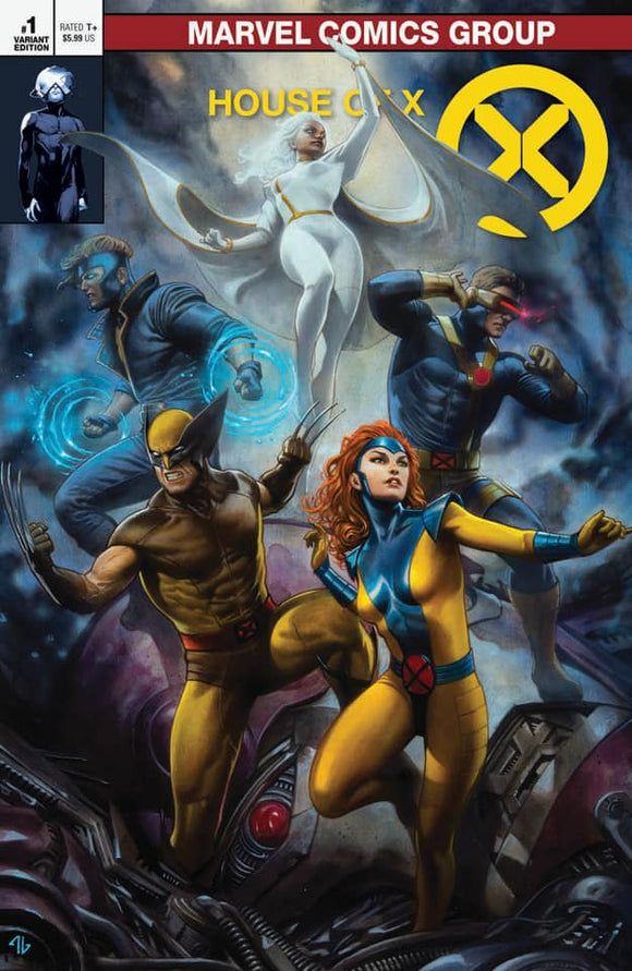 HOUSE OF X #1 Adi Granov EXCLUSIVE! ***Available in TRADE DRESS, VIRGIN, and VIRGIN SET!*** - Mutant Beaver Comics