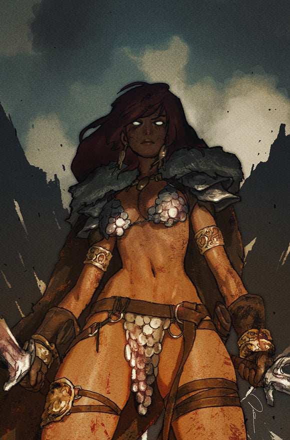 RED SONJA: BIRTH OF THE SHE-DEVIL #3 GERALD PAREL VIRGIN EXCLUSIVE! ***LTD TO ONLY 500!*** - Mutant Beaver Comics