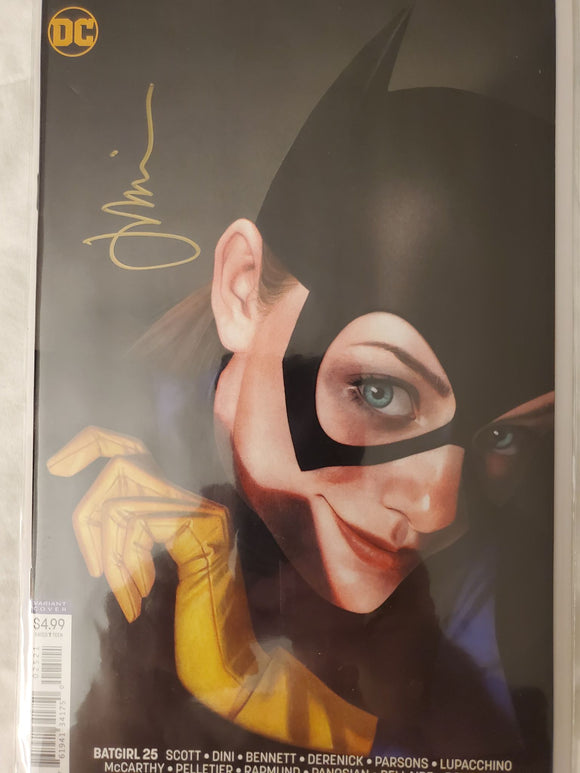 BATGIRL #25 Cover B Joshua Middleton SIGNED By Middleton with COA!