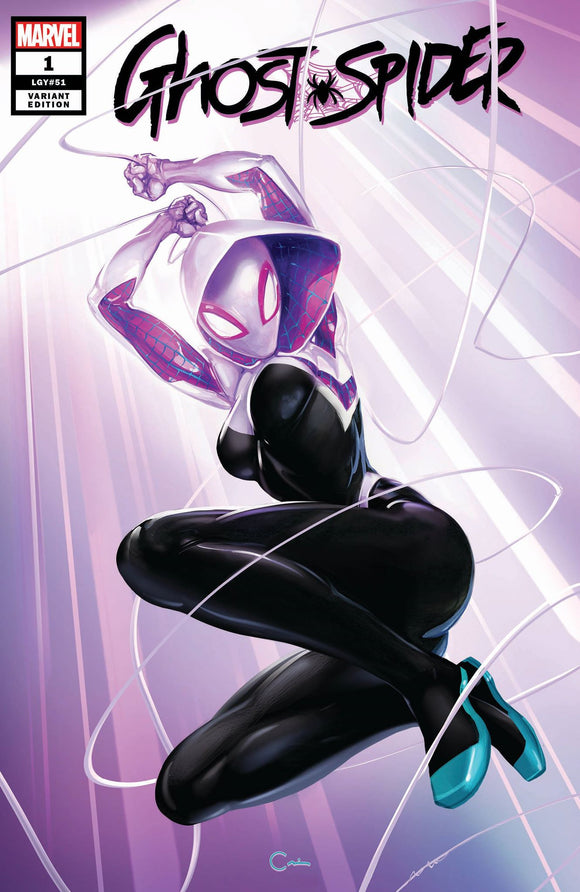 Pre-Order: GHOST SPIDER #1 Clayton Crain Exclusive! ***Available in TRADE DRESS, VIRGIN, & SET (Best Value!) - Mutant Beaver Comics