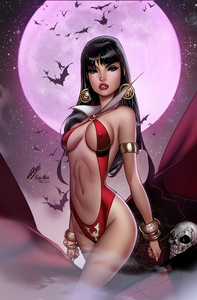 Pre-Order: VAMPIRELLA #3 from PAUL GREEN & ULA MOS VIRGIN EXCLUSIVE! ***Available in RAW VIRGIN, CGC 9.8, & CGC SS*** - Mutant Beaver Comics