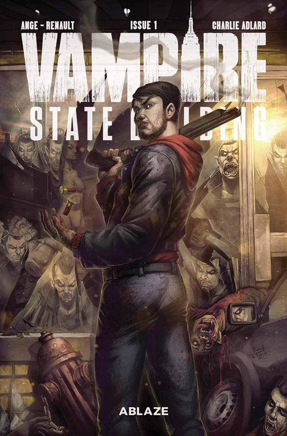 Pre-Order: VAMPIRE STATE BUILDING #1 Charlie Adlard EXCLUSIVE - TWD 1 Homage - Limited to ONLY 300!! - Mutant Beaver Comics