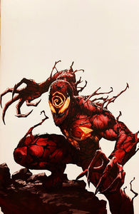 "ABSOLUTE CARNAGE #1 SECRET SKAN ""THANK YOU"" VIRGIN EXCLUSIVE!! ***Ltd to ONLY 800!*** FREE!!! ~STRICT LIMIT OF 1 PER PERSON~"