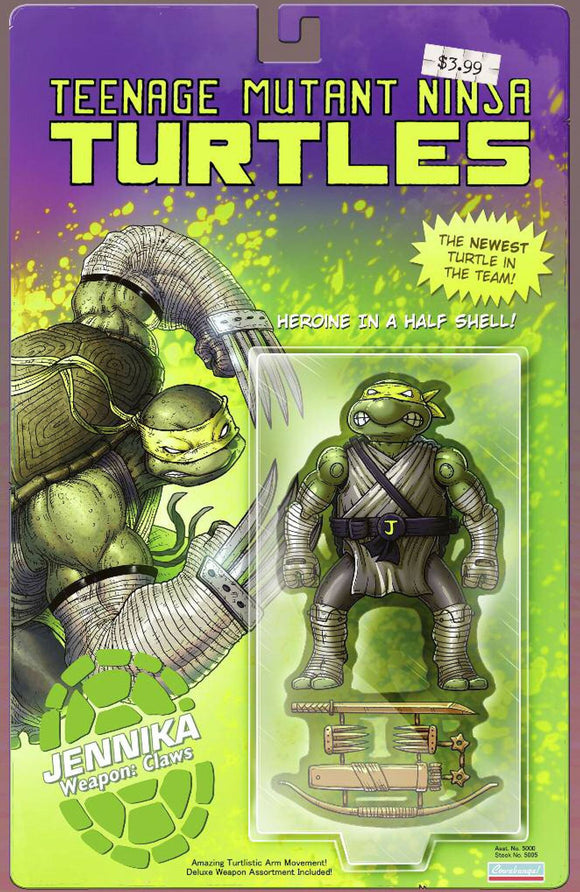 Pre-Order: TEENAGE MUTANT NINJA TURTLES #98 Mike Vasquez Action Figure Exclusive COMIC BOOK!! ***Ltd to 800*** AVAILABLE in TRADE DRESS, CGC, SS, & REMARK***