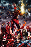 CAPTAIN MARVEL #12 Mark Brooks EXCLUSIVE!! ***Available in MASKED, UNMASKED, and FULL SET*** - Mutant Beaver Comics