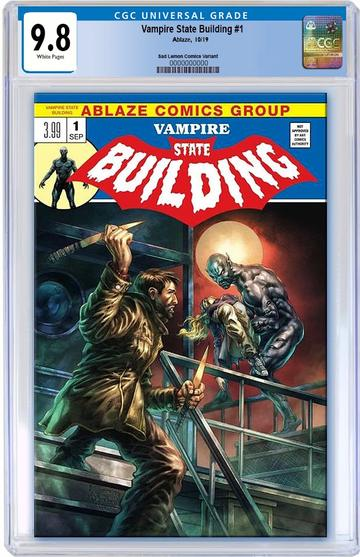 CGC 9.8 VAMPIRE STATE BUILDING #1 Alan Quah EXCLUSIVE! ***Only 1 Available!*** - Mutant Beaver Comics
