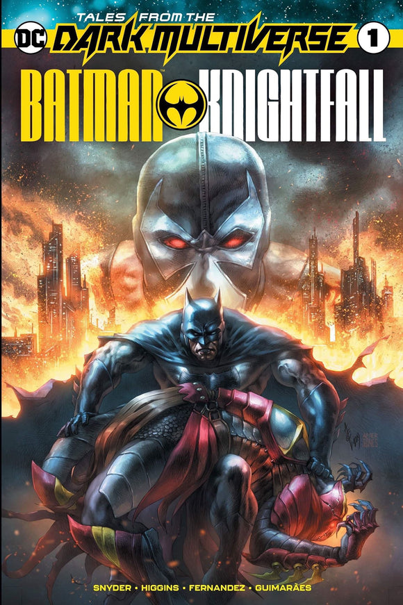 TALES FROM THE DARK MULTIVERSE BATMAN KNIGHTFALL #1 Exclusive from Alan Quah! ***Available in RAW, CGC 9.8, CGC SS, & CGC REMARK*** - Mutant Beaver Comics