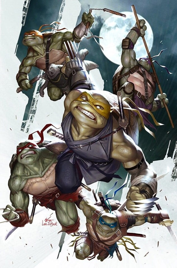 Pre-Order: TMNT #100 Inhyuk Lee VIRGIN EXCLUSIVE! ***Ltd to Only 500***