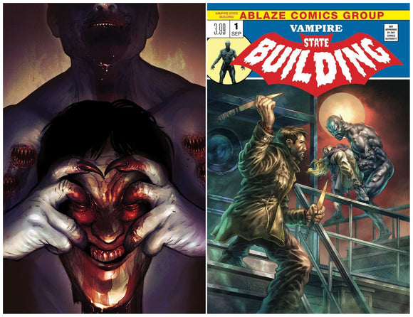 Pre-Order: VAMPIRE STATE BUILDING #1 Exclusives! ***Available as Individual RAW, SET of Both, and CGC 9.8*** - Mutant Beaver Comics