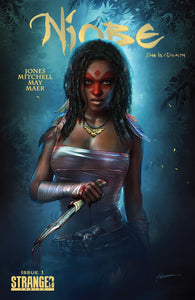 NIOBE: She Is Death #1 Shannon Maer Exclusive! ***Available in TRADE DRESS and VIRGIN SET*** - Mutant Beaver Comics