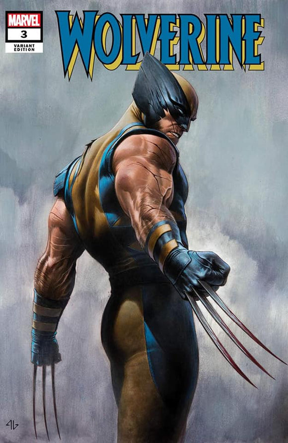 WOLVERINE #3 Adi Granov TRADE DRESS Exclusive! - Mutant Beaver Comics