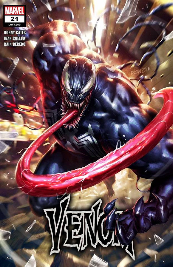 VENOM #21 Venom Island PART 1 Derrick Chew EXCLUSIVE! ***Available in TRADE DRESS, VIRGIN SET, & CGC 9.8*** - Mutant Beaver Comics
