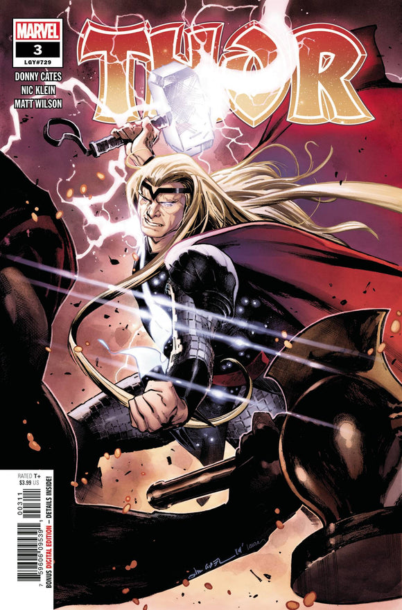 THOR #3 First Print - 1st Full App of Black Winter!! ***IN STOCK NOW!*** - Mutant Beaver Comics