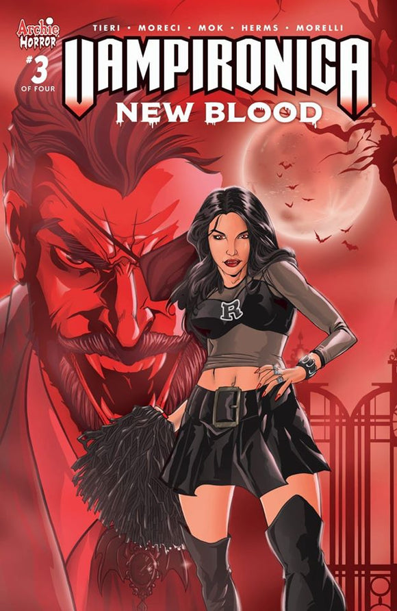 Pre-Order: VAMPIRONICA: New Blood #3 Exclusive by Hugh Rockwood! ***Ltd to ONLY 300*** - Mutant Beaver Comics
