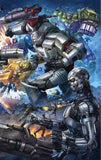 TRANSFORMERS VS TERMINATOR #1 ALAN QUAH Wrap-Around Exclusive! - Mutant Beaver Comics