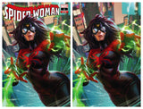 SPIDER-WOMAN #1 Derrick Chew Exclusive! ***Available in TRADE DRESS, VIRGIN SET, and CGC 9.8*** - Mutant Beaver Comics