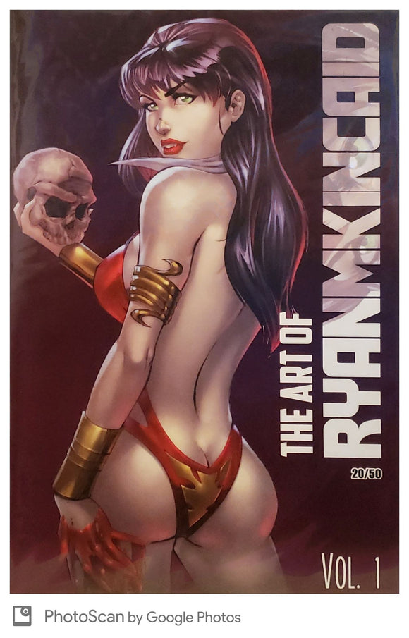 THE ART OF RYAN KINCAID Vol 1 (#20/50) & (#1/50) - Mutant Beaver Comics