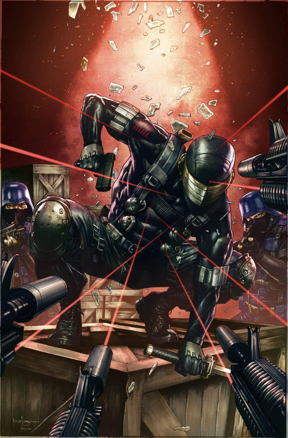 Pre-Order: SNAKE EYES DEADGAME #1 Mico Suayan VIRGIN Exclusives! ***Available in ASM Homage & Reflection Set*** - Mutant Beaver Comics