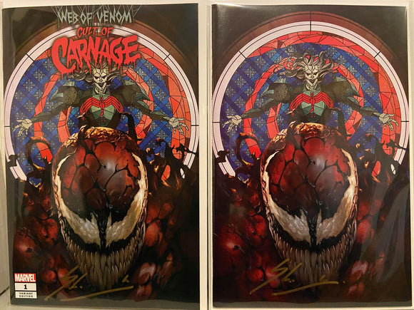 CULT OF CARNAGE #1 Skan Srisuwan Exclusive SIGNED by Skan with COA! - Mutant Beaver Comics