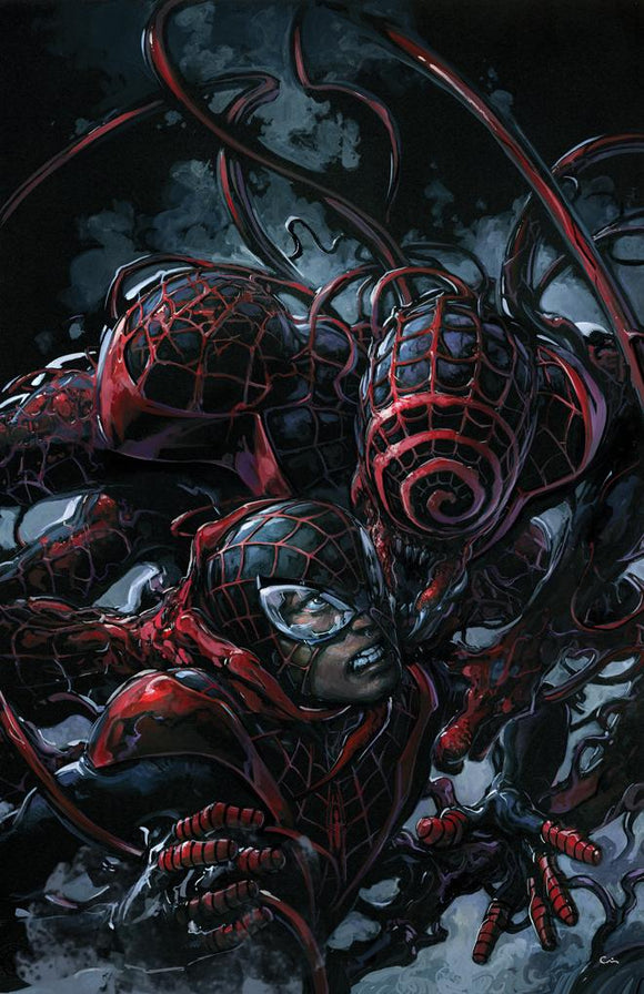 Pre-Order: ABSOLUTE CARNAGE: MILES MORALES #2 Clayton Crain VIRGIN Exclusive! ***Ltd to ONLY 1500 w/COA***
