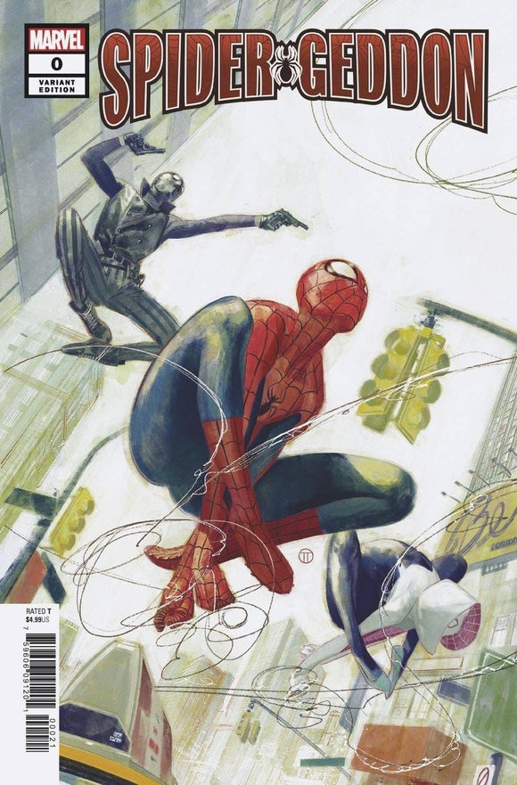 SPIDER-GEDDON #0 1:50 Julian Tedesco Ratio Variant - Mutant Beaver Comics