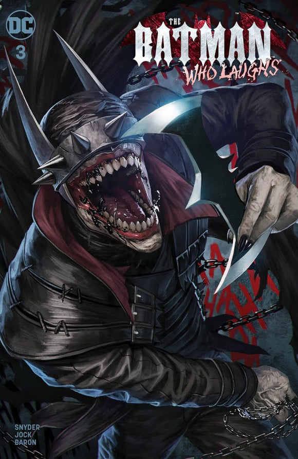 BATMAN WHO LAUGHS #3 Trade Dress from SKAN - Mutant Beaver Comics