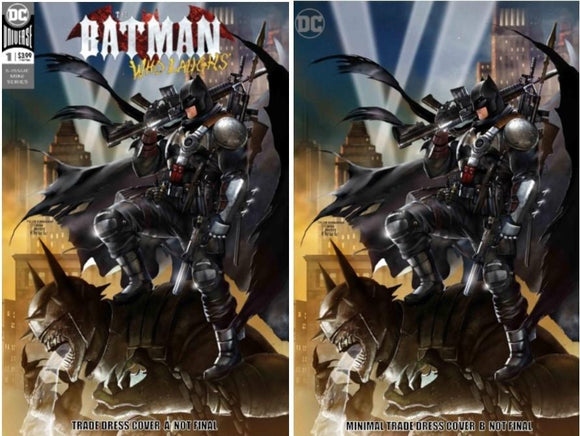 BATMAN WHO LAUGHS #1 Kirkham SET (Batman #608 Homage) ONLY 750 Available + COA! - Mutant Beaver Comics
