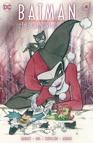 Pre-Order: BATMAN THE ADVENTURES CONTINUE #4 PEACH MOMOKO HARLEY QUINN EXCLUSIVE! (09/22/2020) - Mutant Beaver Comics