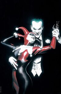BATMAN HARLEY QUINN #1 Alex Ross LIMITED FOIL CONVENTION Exclusive! - Mutant Beaver Comics