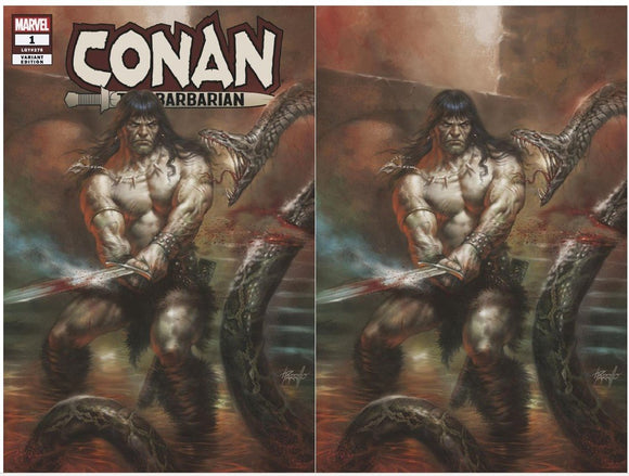 Pre-Order: CONAN #1 Lucio Parrillo Exclusive SET (Trade + Virgin) 01/10/19 ***Only 1000 Sets***