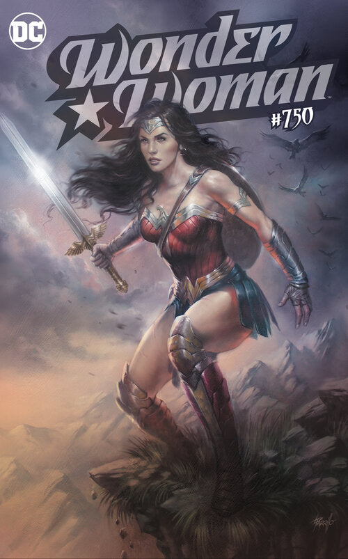Pre-Order: WONDER WOMAN #750 Lucio Parillo Exclusive! ***Available in TRADE DRESS or VIRGIN SET***