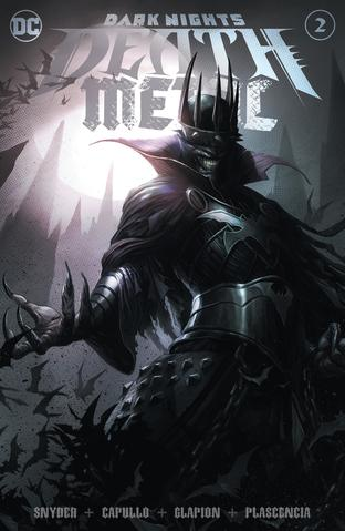 Pre-Order: DARK NIGHTS Death Metal #2 Francesco Mattina BWL Trade Dress Exclusive! - Mutant Beaver Comics